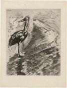 """Chagall, Marc: Le Fables de la Fontaine: """"Le Lion et le Moucheron"""""""