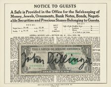 Beuys, Joseph: Notice to Guests