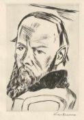 Beckmann, Max: Dostojewski II