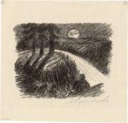 Barlach, Ernst: An den Mond I