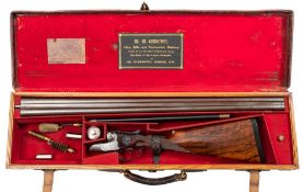A W W Greener Royal Model double barrel twelve bore hammerless 'Facile Princeps' ejector: No 39564,