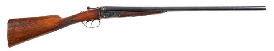 An Aya No4 double barrel twelve bore boxlock ejector: 218074, 26 inch barrels,
