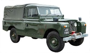 A 1967 Land Rover 109 Series IIA registration JOD 720E: chassis number 34500012A, 30,