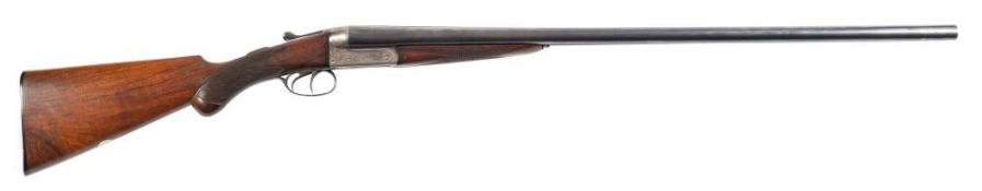 A double barrelled twelve bore boxlock non ejector by Lyon and Lyon (London and Calcutta): 30'' x 2