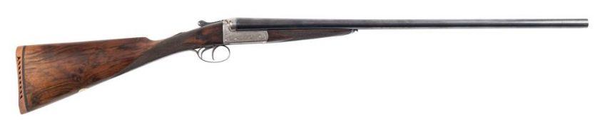 A Hodgson double barrel sixteen bore boxlock ejector: '2014',