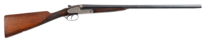 An Aya No 2 double barrel 12 bore sidelock ejector: 26 x 23/4'' barrels with hand detachable locks