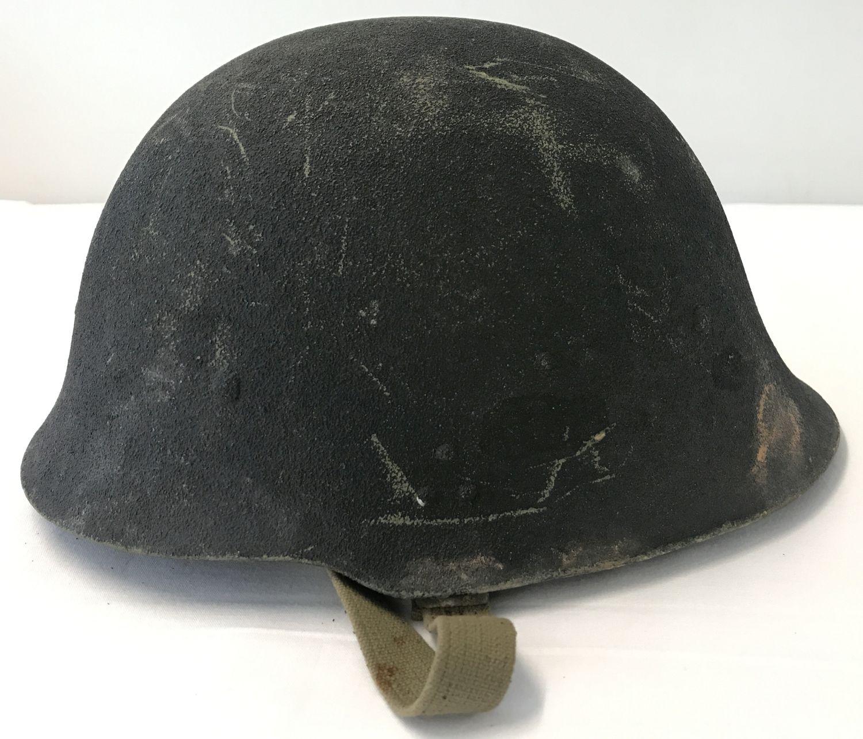 Lot 121 - A Yugoslav Kevlar helmet, circa 1980's.