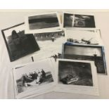 A photocopy collection of the photo diary of Wally Griffin of the 32nd Air Squadron 1941-43.