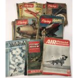24 x RAF Flying Review magazines 1953-56.