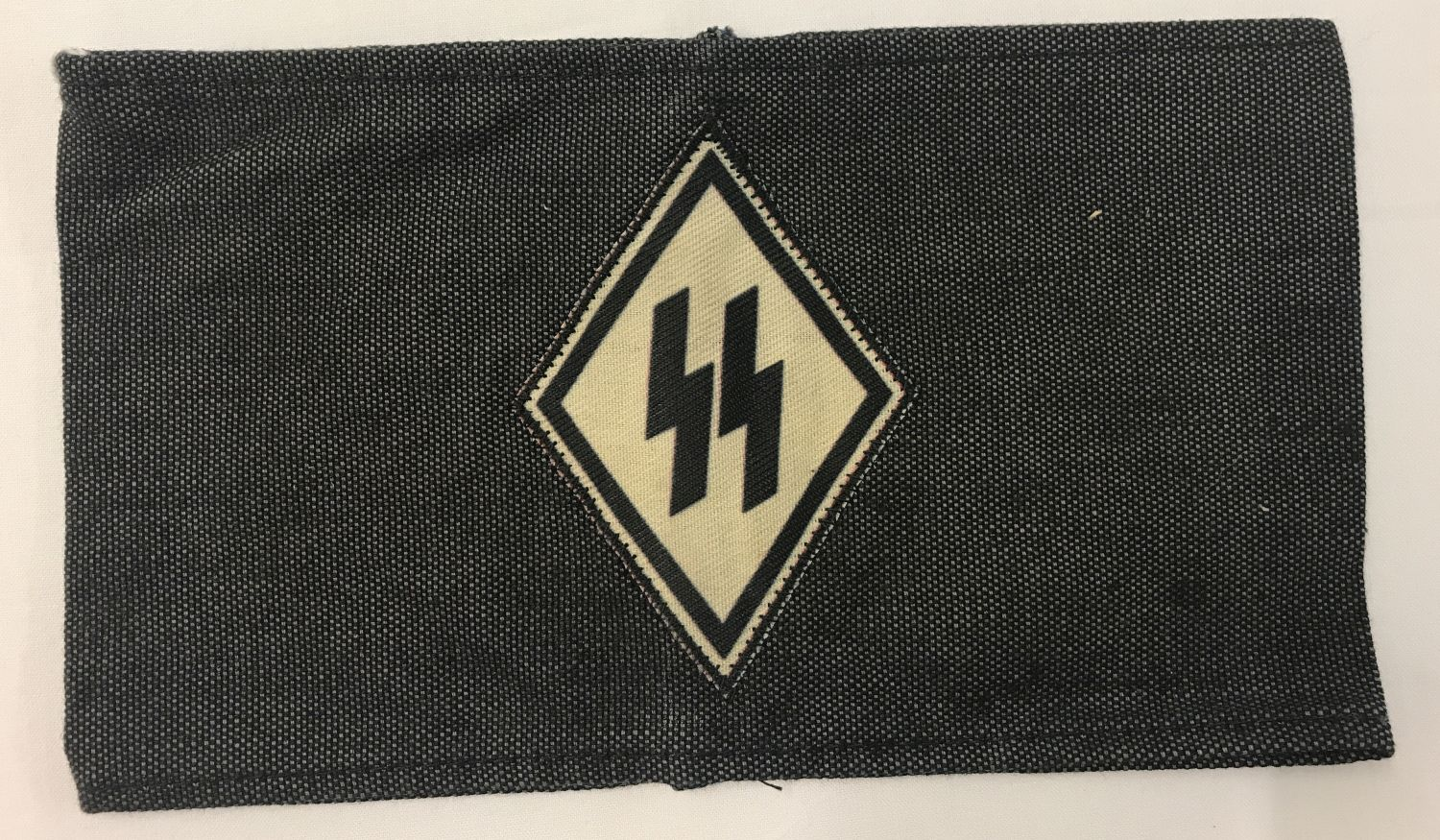 Lot 135 - A copy of a German WWII SS VT funeral mourner's armband.