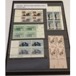 """A collection of 20 mint 1961-1965 """"Civil War Centennial"""" series stamps from the USA."""
