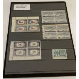17 mint 1943 - 1948 hinged stamps from the USA.