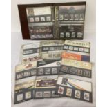 An album containing a quantity of assorted Royal Mail Mint stamp presentation packs.
