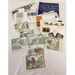 A collection of stamps and first day covers to include Jersey Chinese New Year issues.
