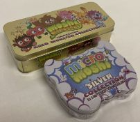 Moshi Monsters - 2 sealed and unopened tins of Limited Edition moshling figures.