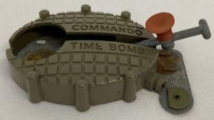 A vintage 1960's Commando Tim Time Bomb from Kilgore.