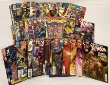 Approx. 57 X-Men related Comic Books by Marvel Comics. Various Eras.
