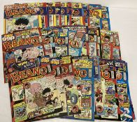 47 issues of The Beano comic, all dating from 2008.