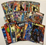 Approx. 44 Comic Books by DC Comics. Featuring various series and eras. Mostly 80s-Early 90s.