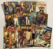 Approx. 42 Comic Books published by Marvel Comics. Mostly 90s.