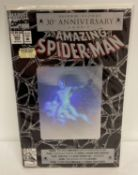 The Amazing Spider-Man, Issue #365, Super-Sized 30th Anniversary Issue Comic Book by Marvel Comics.