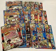50 issues of The Beano comic, all dating from 2009.
