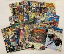 Approx. 45 Comic Books by Marvel Comics. Featuring various series. Mostly 80s.
