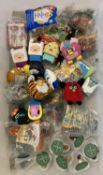 30 sealed an unsealed McDonalds Happy Meal toys.