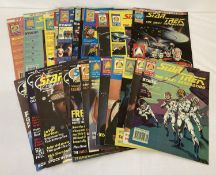 """24 copies of """"Star Trek The Next Generation"""" comic/magazine dating from 1990 and 1991."""