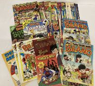 A collection of The Dandy, The Beano and Dennis the Menace comics, dating from 1999 - 2010.