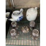 Lot de (7) ensembles de thés -divers
