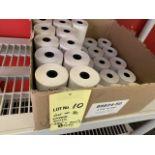 Lot de (36) Rouleaux papier imprimante # 88824-50