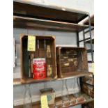 LOT: (8 pcs) Distressed Wooden Crates (Artisanal/Deco)