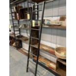 Échelle pour étagère / biblio - 77'' métal