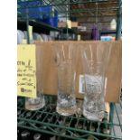 Lot d'approx. (54 ) verres de bière et caisse boissons gazeuses