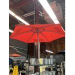 Lot de (2) parasols BUDWEISER -Manque poteau