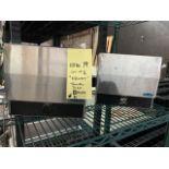 Lot de (2) distributrices papier main , acier inox FROST