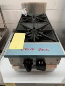 "Bruleur 2 ronds - MKE NEUF # L-12MP- gaz propane - 12 x 29"""