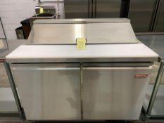 """Table de preparation réfrigérée - 2 portes # ST-48 - 48 x 30"""""""