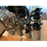 Lot de 16 accessoires de café