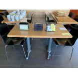 """(3) Tables Bistro 24 x 48 """"- quantité x $ misé"""