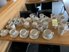 Lot de 40 tasses ++