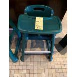 Lot de (2) chaises hautes bebe