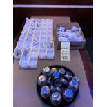 Lot varié de petits recipients pur sucre 35 +