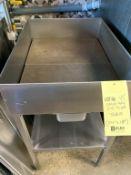 """Table de drainage acier inox 24 x18 """""""