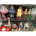 Lot varié de savons et nettoyants chimique +