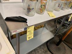 MKE Table de travail acier inox # ECTC 48 X 24 -NEUVE