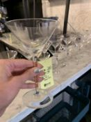 Lot de 18 verres HAGIBIS - martini (F)