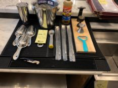 Lot de items de bartender / bar (F)
