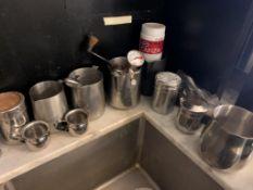 Lot d'acessoires de café- stainless (F)